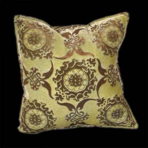 Fortuny inspired Cushion available thru www.luminosodesign.com