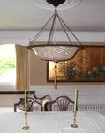 Fortuny lighting Scudo Saraceno in Gold Glass Classico Design, available from info@luminosodesign.com